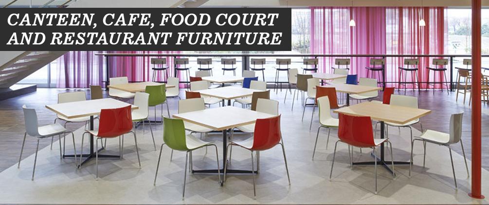 Furniture pilihan untuk kantin, kafe dan restoran